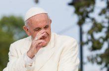 Į Estiją išvykstantis popiežius atsisveikina su Lietuva