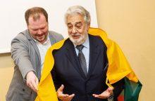 Prezidentė susitiks su Kaune koncertuosiančiu garsiuoju tenoru P. Domingo