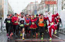 Kalėdų seneliai ir snieguolės varžysis kalėdiniame bėgime