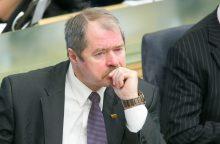 """""""MG Baltic"""" byla: teismui aiškinosi buvęs Seimo narys R. Sargūnas"""