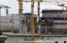 Statomoje Astravo atominėje elektrinėje užsimušė rusų bendrovės statybininkas