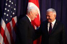 JAV nori naujo starto ryšiuose su Turkija