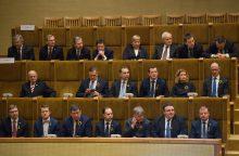 Etikos sargų akiratyje atsidūrė šeši ministrai