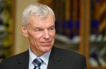 J. V. Paleckiui ketinama skirti signataro rentą