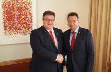 Lietuva įsipareigojo remti Raudonojo Kryžiaus veiklą Ukrainoje ir Sirijoje