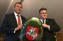 Turku mieste Suomijoje atidarytas Lietuvos garbės konsulatas