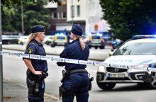 Per šaudymą Švedijoje žuvo trys žmonės