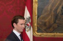 Ar Austrijos dešinioji koalicija taps nauju išbandymu ES?