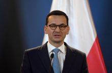 Lenkijos premjeras: buvusioms komunistinėms ES šalims reikia daugiau paramos