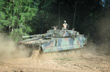 Lietuvoje pratybas pradėjo naujos rotacijos Nyderlandų kariai