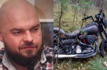 Policija prašo atsiliepti dingusį motociklininką mačiusius žmones