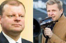 Premjeras ir Vilniaus meras surėmė ietis dėl vaiko pinigų