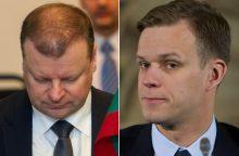 G. Landsbergis reikalauja S. Skvernelio atsiprašymo