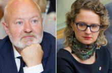 Liberalai renka frakcijos seniūną: A. Armonaitė varžysis su E. Gentvilu