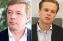 Augant politinei įtampai kyla G. Landsbergio ir R. Karbauskio reitingai