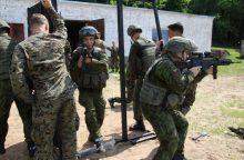 Lietuvoje prasideda didžiausi rezervo karių mokymai