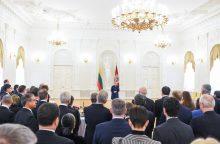 Prezidentės ir ambasadorių susitikime – svarbiausios politinės aktualijos