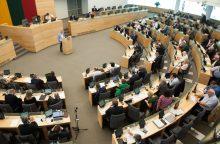 Seimas atliks tyrimą dėl galimo poveikio politikams ir institucijoms