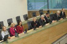 Prisiekė trys Lietuvos Aukščiausiojo Teismo teisėjai