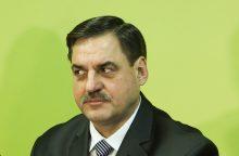 Ministerija pradėjo patikrinimą dėl Kalėjimų departamento vadovo