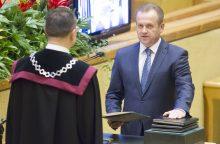 S. Skardžiuvienė vyro interesus tiriančios komisijos posėdyje vėl nepasirodė