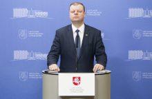 Strateginių projektų komisijai vadovaus premjeras