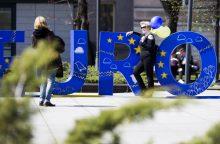 ES raidos scenarijai: lietuviai palaiko glaudesnę bendrijos integraciją