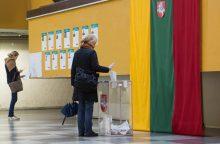 Klaipėdoje rinkėjų skaičius tirpsta