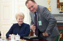Į LVAT vadovus prezidentė siūlo G. Kryževičių
