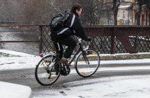 Vilniečiai įvertino miesto dviračių takus