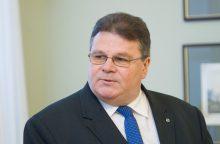 L. Linkevičius susitiks su JAV prezidento administracijos pareigūnais