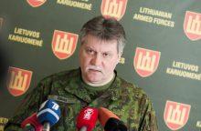Kariuomenės vadas viešės Lenkijoje