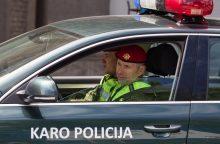 Karo policija pradėjo tyrimą dėl šarvuočio atsarginių dalių pirkimo