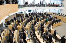 Seimo nariai parlamentinei veiklai šiemet išleido per 850 tūkst. eurų