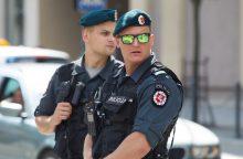 Sostinės policija buvo sukelta ant kojų: šaulys pasidavė pats