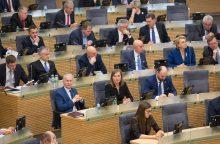 """Socialdemokratų frakcija: kol kas kartu – ir partiečiai, ir """"maištininkai"""""""