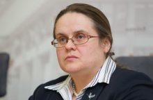 A. Širinskienė raginama atsistatydinti iš komiteto pirmininkės pareigų