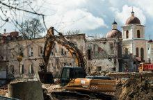 Inspekcija ir savivaldybė kapojasi dėl statybų prie Misionierių vienuolyno