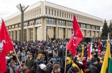 Prie Seimo ketinama statyti didelį koplytstulpį