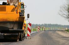 Kelio Vilnius-Utena rekonstrukcija tolsta