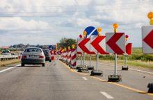 Perspėjimas vairuotojams: šią vasarą tarp Vilniaus ir Kauno strigsime