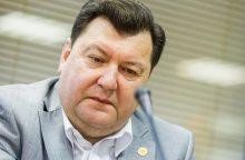 Ministras: Rusijos sprendimas apsunkins E. Zingerio darbą parengti raportą ET
