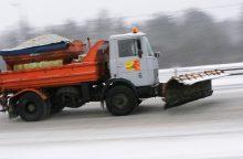 Įsismarkavusi žiema pažėrė iššūkių kelininkams