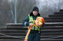 Gatvėje Vilniuje rastas nužudytas vyras