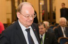 Ilgametis Seimo narys Č. Juršėnas neteko žmonos