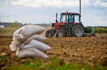 V. Pranckietis – už vienodą visų žemdirbių apmokestinimą