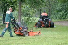 Skaudi nelaimė Kauno rajone: pjaudamas žolę žuvo vyras