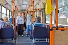 Nepritaria siūlymui išplėsti transporto lengvatų gavėjų skaičių