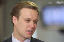 """""""MG Baltic"""" bylos posėdyje tarp liudytojų – G. Landsbergis"""