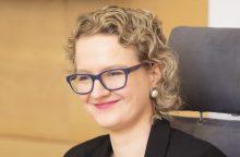 A. Armonaitė svarsto galimybę tapti europarlamentare